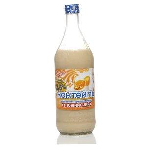 Коктейль молочный с ароматом тоффе (сливочной карамели) 2,5% ТМ Можайский