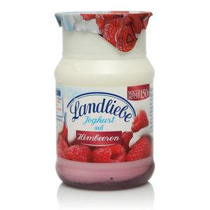 Йогурт безлактозный с малиной TM Landliebe (Лендлиебе)