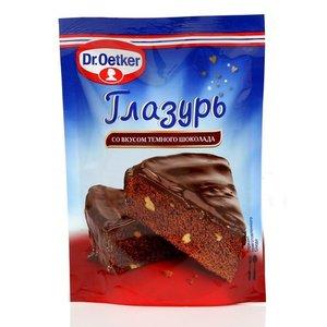 Глазурь со вкусом темного шоколада ТМ Dr.Oetker (Доктор Оеткер)