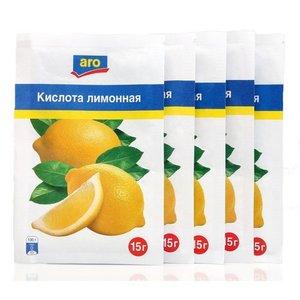Кислота лимонная 4*15г ТМ Aro (Аро)