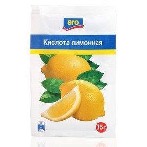 Кислота лимонная ТМ Aro (Аро)