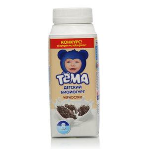Йогурт с черносливом 2,8% ТМ Тема