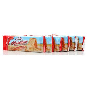 Печенье Глазурь Топленое молоко 6*130г ТМ Юбилейное