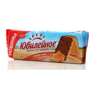Печенье юбилейное сливочная карамель ТМ Юбилейное