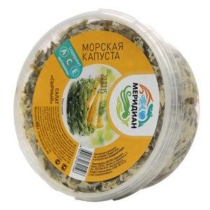 Салат Сырный с морской капустой ТМ Меридиан