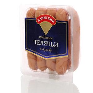 Сосиски телячьи по-клински ТМ Клинский