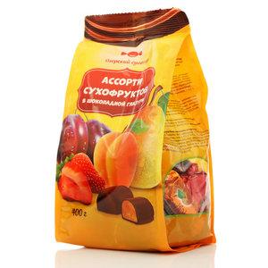 Конфеты Ассорти сухофруктов в шоколаде ТМ Озерский сувенир