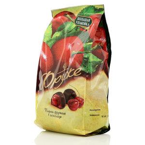 Конфеты глазированные Вишня фружеле в шоколаде TM Фруже