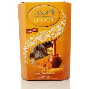Конфеты шоколадные с начинкой из карамели Lindor (Линдор) ТМ Lindt (Линдт)