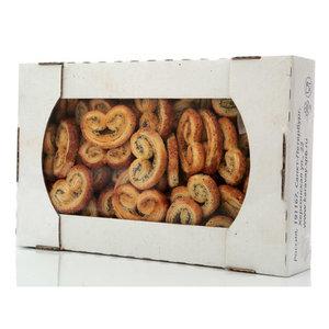Печенье сдобное слоеное Заряшки с маком ТМ Каравай