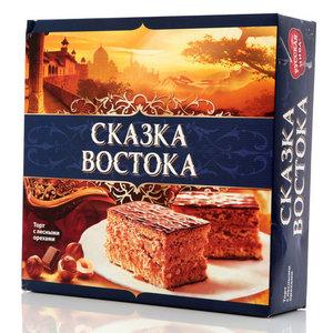 Торт с лесными орехами ТМ Русская нива