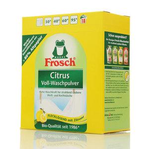 Стиральный порошок Citrus концентрированный ТМ Frosch (Фроч)