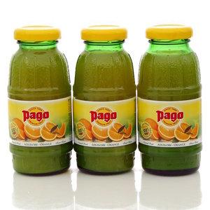 Сок апельсиновый 3*200мл ТМ Pago (Паго)