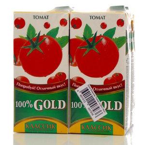 Сок томатный классик 4*950мл ТМ Gold (Голд)