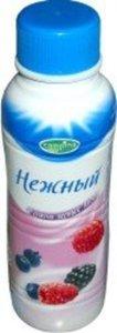Йогурт Нежный с соком лесных ягод 0,1% ТМ Campina (Кампина)