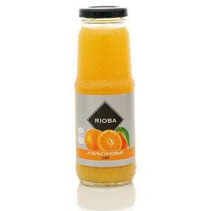 Сок апельсиновый с мякотью для детского питания ТМ Rioba (Риоба)