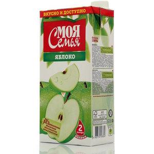 Сок яблоко ТМ Моя семья