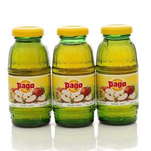Сок яблочный 3*200мл ТМ Pago (Паго)