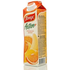 Нектар из апельсинов и бананов ТМ Active (Актив) + Тонус