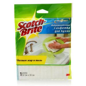 Микроволоконная салфетка для кухни ТМ Scotch Brite (Скотч Брайт)