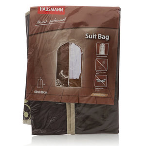 Чехол для одежды 4Р-301 1*60*100 см коричневый TM Hausmann (Хаусманн)
