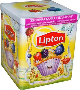 Набор чая Фруктовая коллекция ТМ Lipton (Липтон) в пакетиках