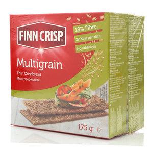 Сухарики Multigrain многозерновые 2*175г ТМ Finn Crisp (Финн Крисп)
