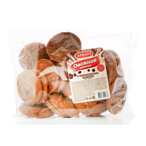 Печенье овсяное с шоколадными каплями TM Арнаут
