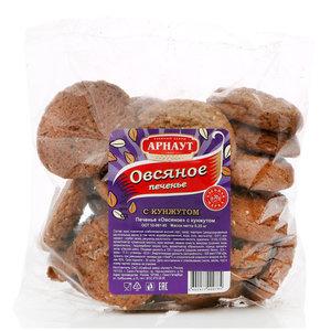 Печенье овсяное с кунжутом TM Арнаут