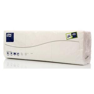 Салфетки 2 сл 23 х 23см 300 шт. белые ТМ Tork (Торк)