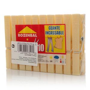 Прищепки пластиковые ТМ Rozenbal (Розенбал), 10 шт