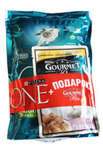 Корм сухой полнорационный для взрослых кошек с индейкой и рисом