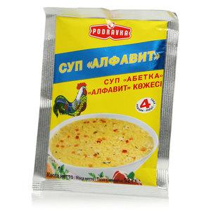 Суп Алфавит ТМ Podravka (Подравка)