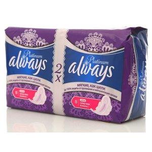 Прокладки Always ultra Platinum супер плюс TM Always (Олвэйз), 16 шт