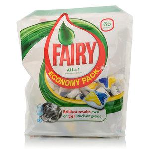 Капсулы для посудомоечных машин 65 шт ТМ Fairy (Фэйри)