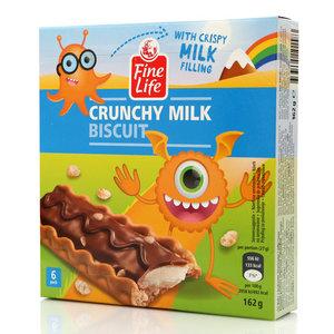 Печенье Crunchy Milk Biscuit ТМ Fine Life (Файн Лайф)