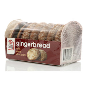 Пряники Gingerbread с темным шоколадом ТМ Fine Food (Файн Фуд)