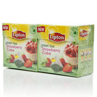 Чай зеленый Strawberry Cake 2*20*1,4г ТМ Lipton (Липтон)