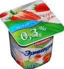 Йогурт клубника-земляника 0,3% Эрмигурт ТМ Ehrmann (Эрманн)