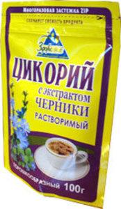Цикорий с экстрактом черники растворимый ТМ Здоровье