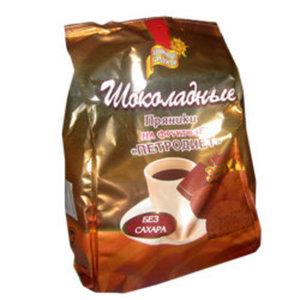 Пряники на фруктозе шоколадные без сахара ТМ Петродиет