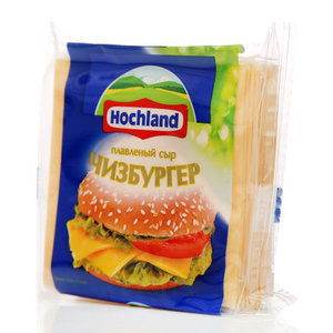 Сыр тостовый для чизбургеров ТМ Hochland (Хохланд)