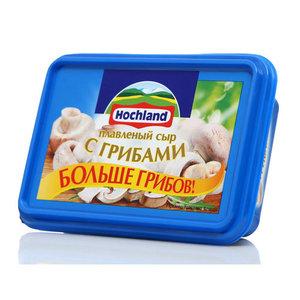 Сыр плавленый грибы ТМ Hochland (Хохланд)