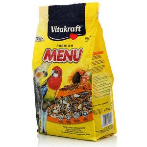 Корм для крупных попугаев Premium Menu Полнорационный ТМ Vitakraft (Витакрафт)