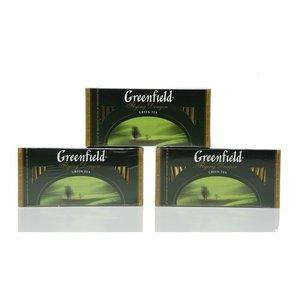 Чай зеленый Flying dragon 3*25*2г ТМ Greenfield (Гринфилд)