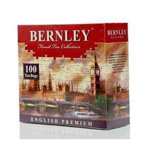 Черный цейлонский чай English Premium (100 пакетиков) ТМ Bernley (Бернли)