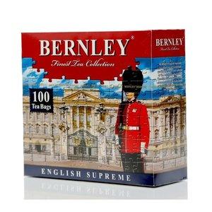 Чай черный цейлонский English Supreme ТМ Bernley (Бернли), 100 пакетиков