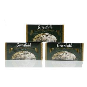 Чай черный 3*25*2г ТМ Greenfield (Гринфилд) Earl Grey Fantasy с ароматом бергамота