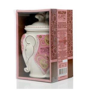 Чай черный байховый клубника со сливками ТМ Hilltop (Хиллтоп) ароматизированный