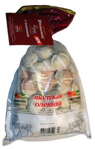 Пельмени Разновес Якутская оленина ТМ Сибирский деликатес